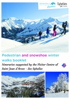 Pedestrian and snowshoe winter walks booklet