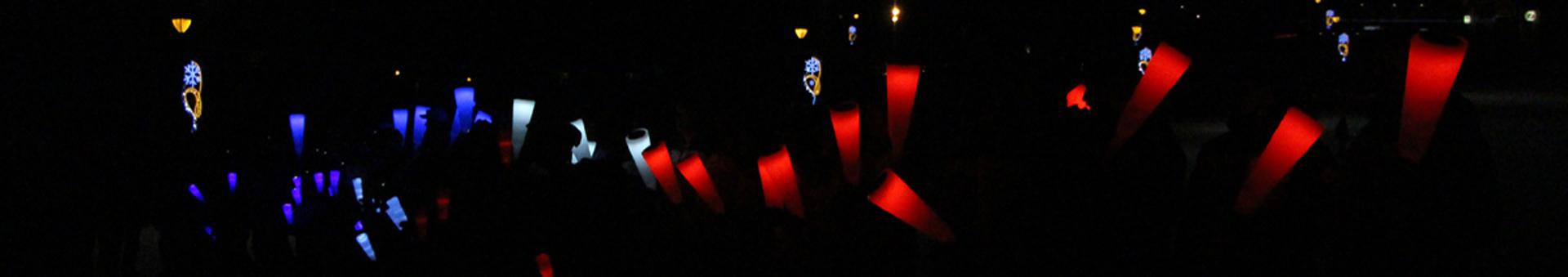 Descente aux flambeaux - Saint Jean d'Arves Les Sybelles