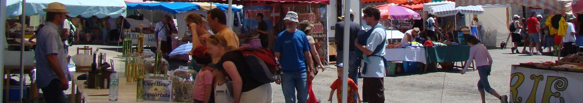 Marchés estivaux de Saint Jean d'Arves