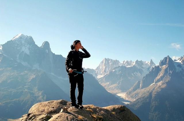 Alpinisme avec guide