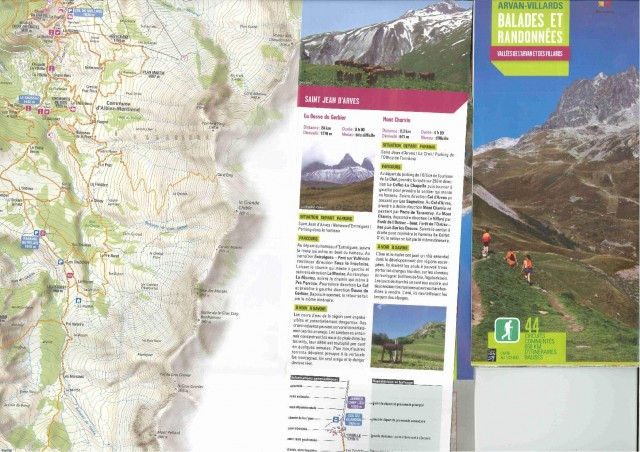 Maps, hiking guides