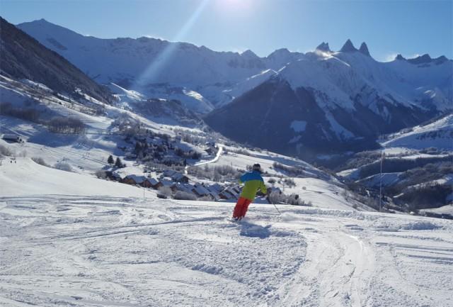 Saint Jean d'Arves - Le Corbier ski area