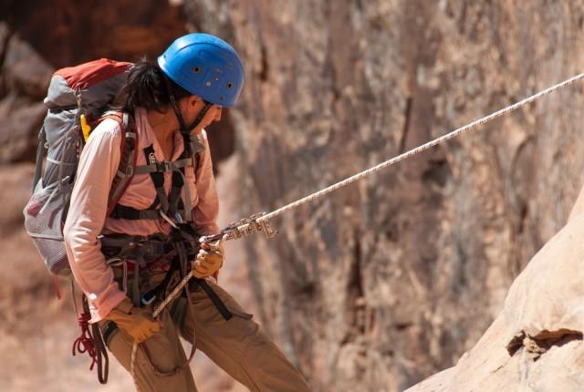 Mountaineering, climbing