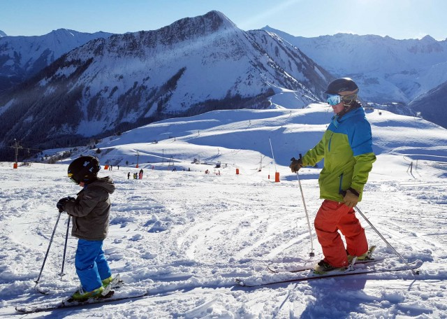 Family ski pass