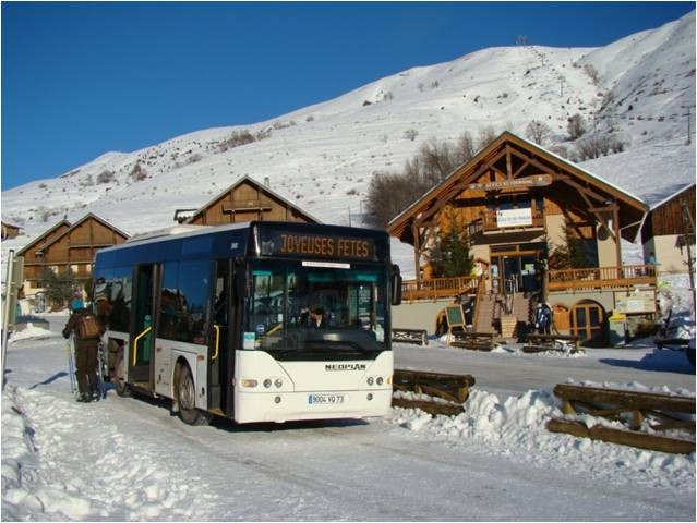 Ski resort shuttles