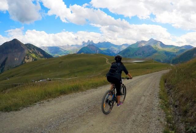 Moutain bike solo