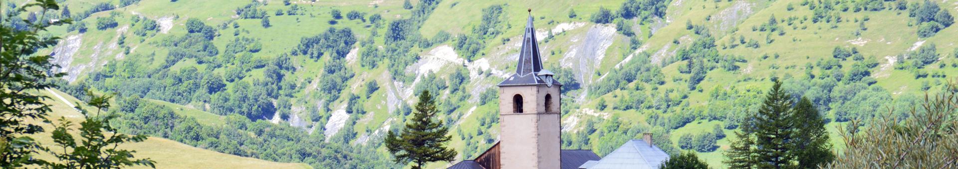 Eglise de La Tour à Saint Jean d'Arves