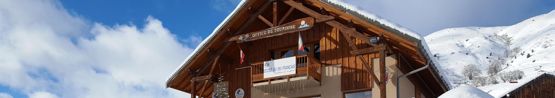 Winter Saint Jean d'Arves Visitor Centre