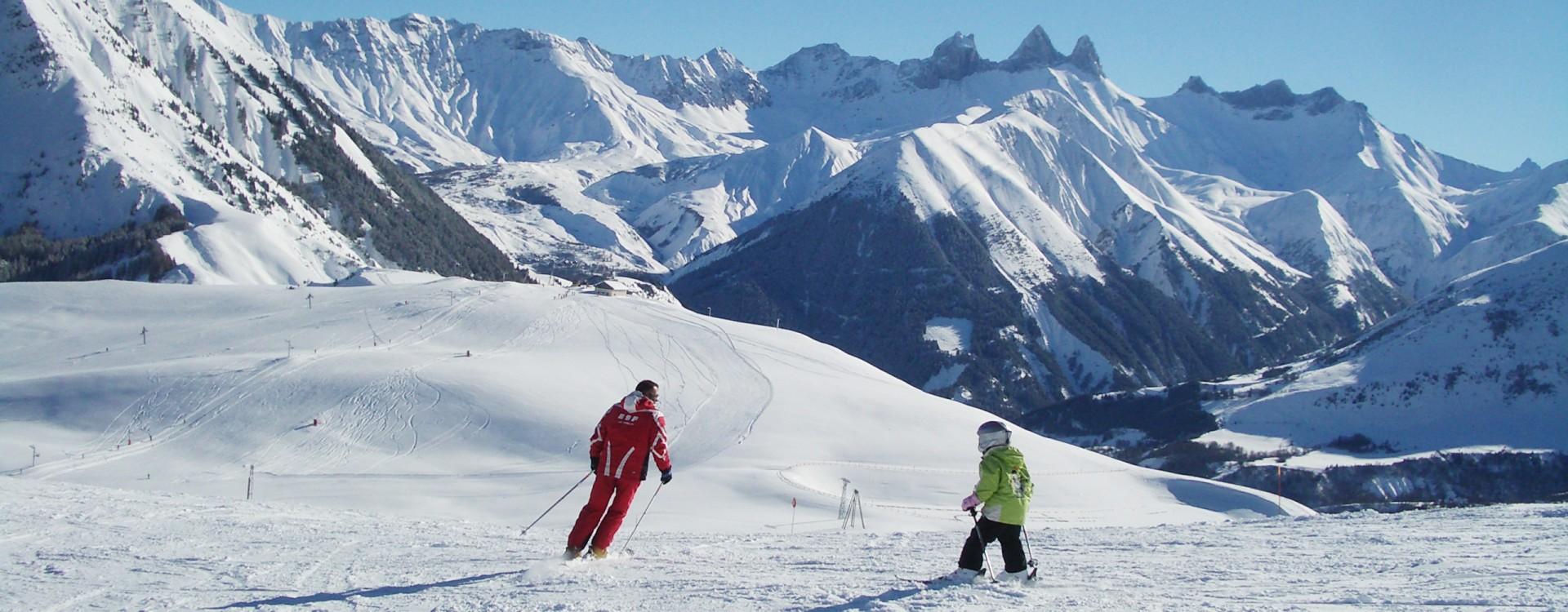 Cours Ski Saint Jean d'Arves Les Sybelles