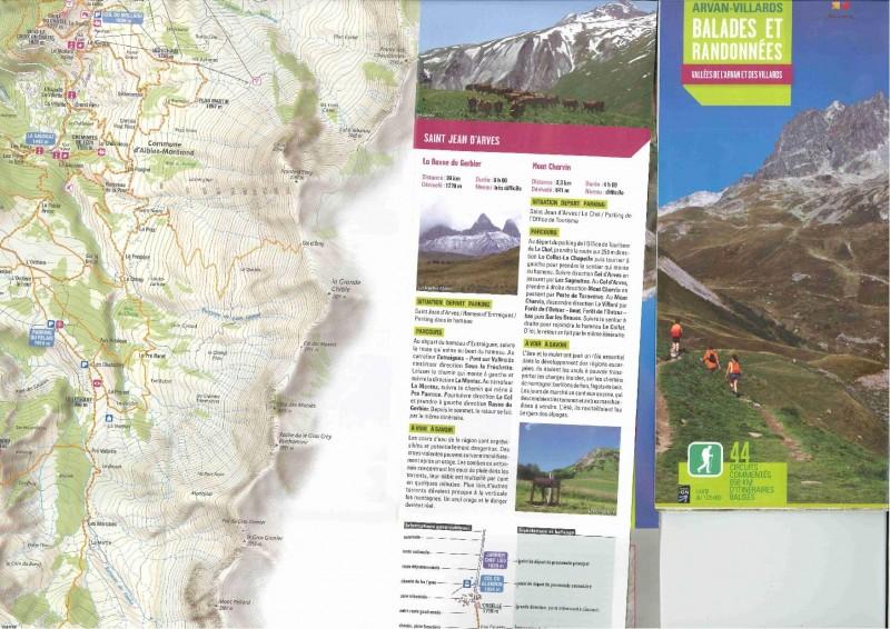 Carte topo Massif Arvan Villards