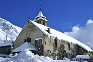 Eglise hiver